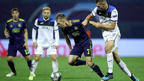 Итальянский и хорватский клубы встречались в матче Лиги чемпионов