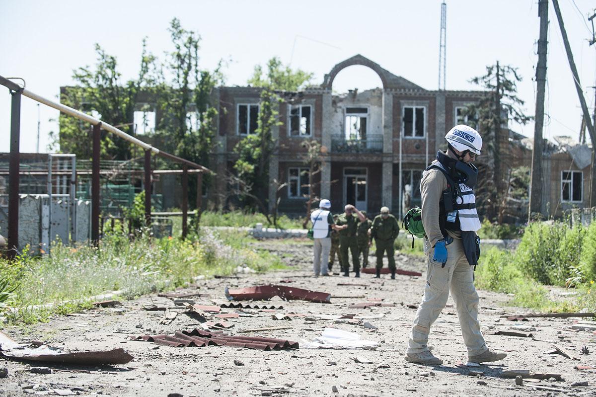 По мнению экспертов, некоторые отчеты миссии ОБСЕ отражают пророссийскую позицию