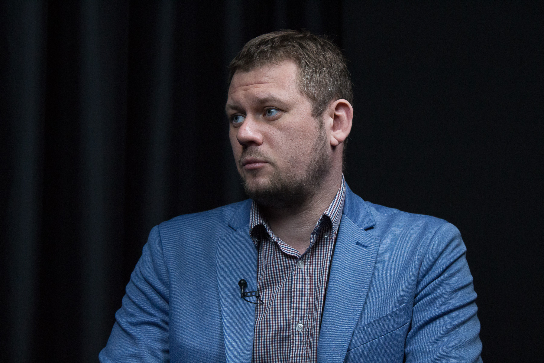Денис Казанский о жизни жителей Луганской области