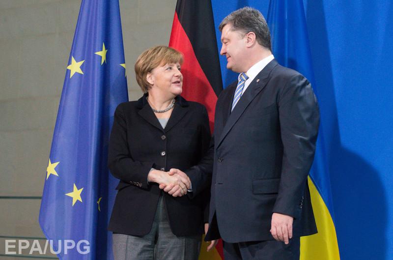 Итоги визита президента Украины в Берлин