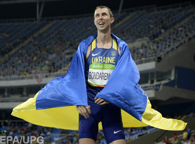 16 августа на Олимпиаде впервые прозвучал гимн Украины