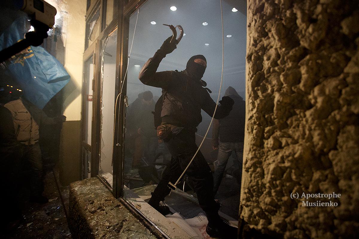 Опубликованы новые фото событий в Киеве во время третьей годовщины Революции Достоинства