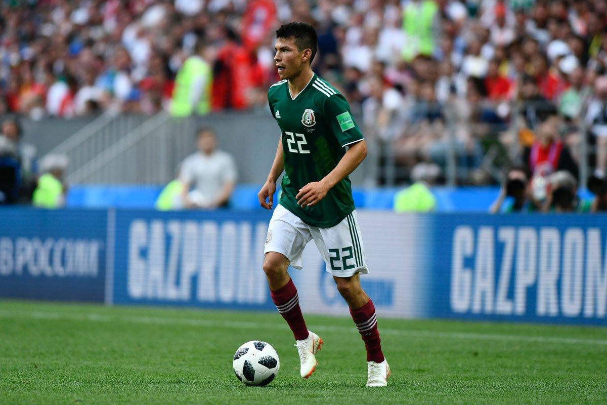 Южная Корея и Мексика играли во втором туре ЧМ-2018