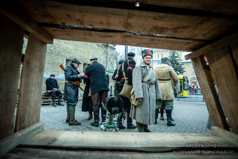 Восстание на заводе арсенал Киев 1918 бой