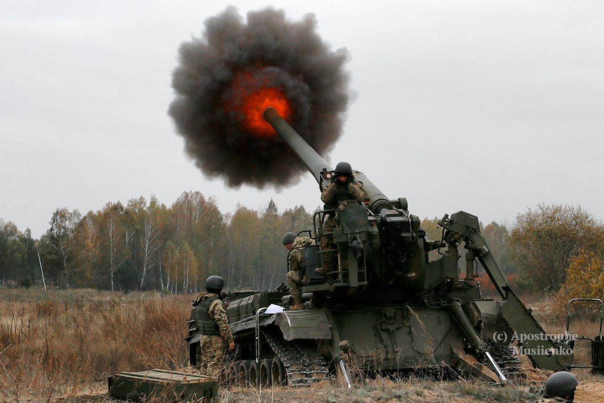 Учения тяжелой артиллерии прошли на Донетчине - Цензор.НЕТ 7214
