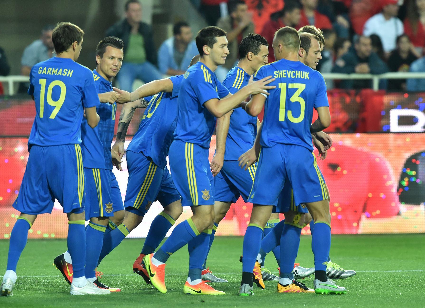 Сборная Украины одержала уже четвертую победу подряд