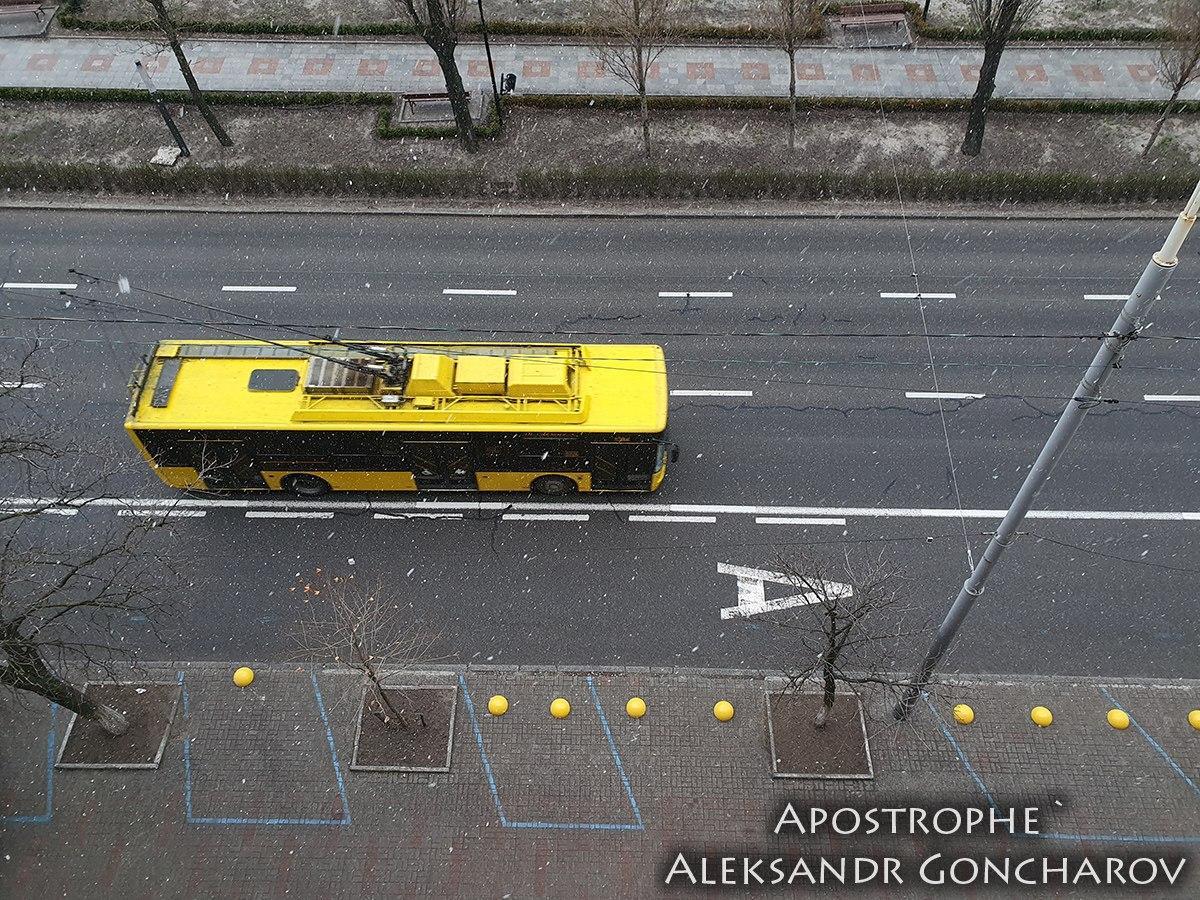 Запізніле похолодання: у Києві несподівано пішов сніг