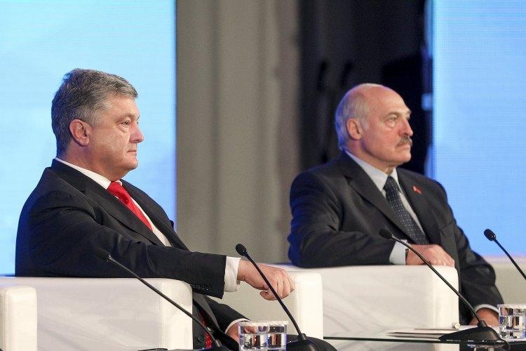 Президент Беларуси во время встречи с Порошенко почему-то обошел вопрос оккупированного Крыма