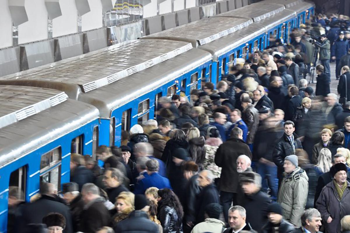 """В Киеве опять """"минировали"""" важнейшие станции метро"""