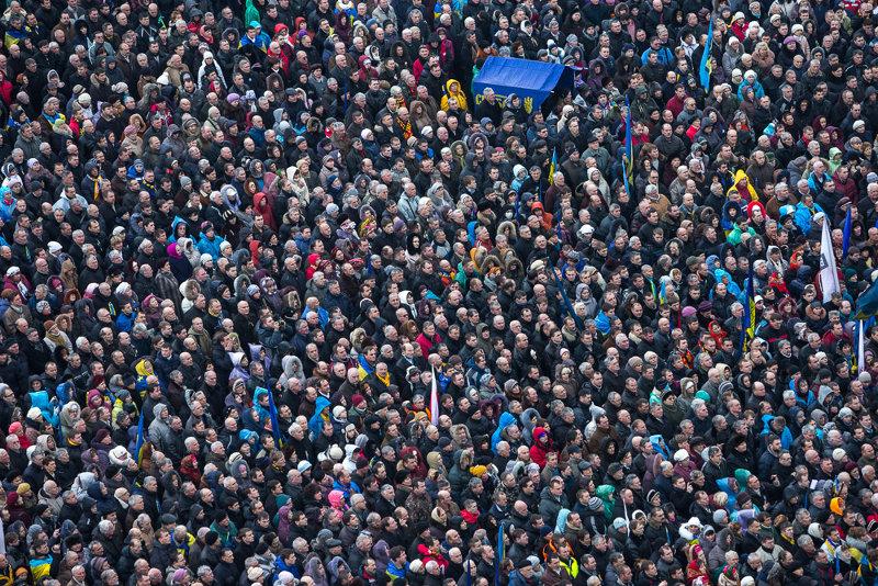 Киев готов отметить годовщину Евромайдана