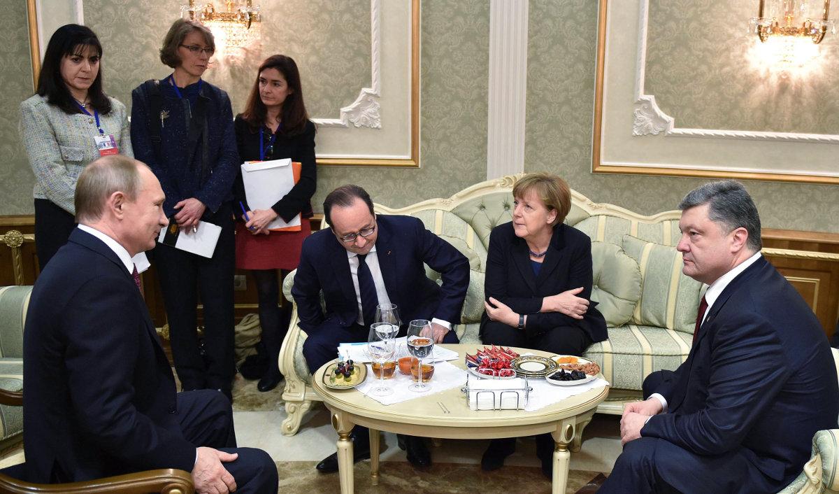 Украина хочет переписать Минские соглашения, - источник