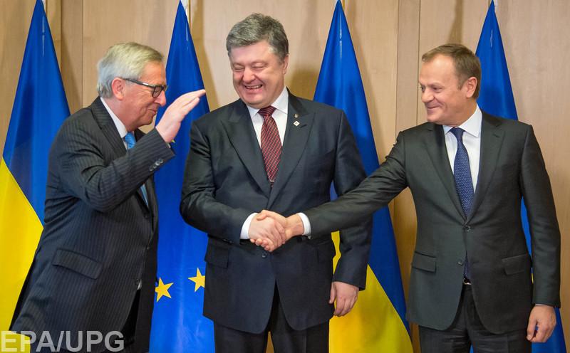 Президент привез из Брюсселя уступки по поводу выборов на Донбассе и обещания по безвизовому режиму