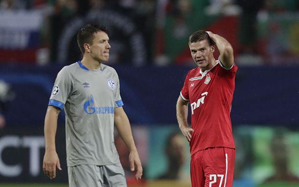 Шальке и Локомотив встречались в шестом туре Лиги чемпионов