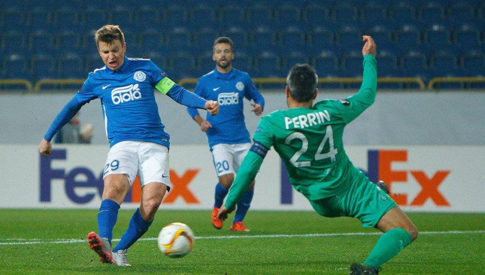 Подопечные Мирона Маркевича не сумели вернуть победное настроение в Лиге Европы