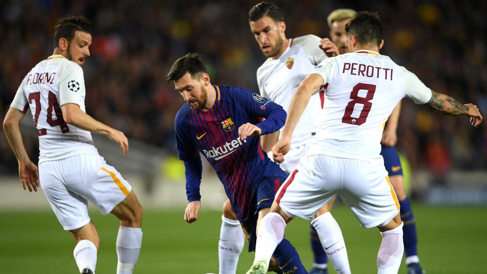 Рома - Барселона смотреть онлайн 10 апреля 2018