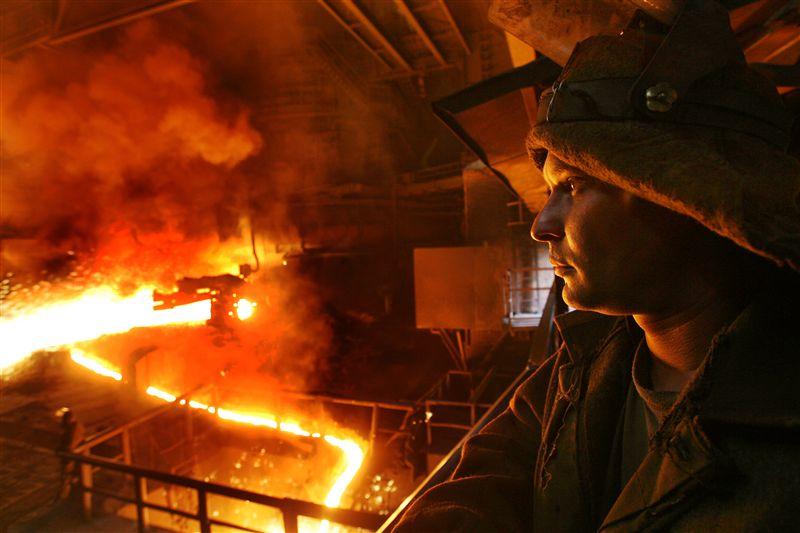 Военные действия нарушили работу крупнейших металлургических предприятий страны