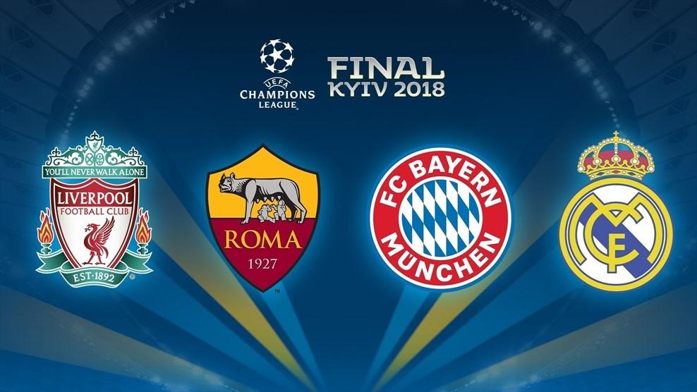 В пятницу определились пары полуфиналистов Лиги чемпионов