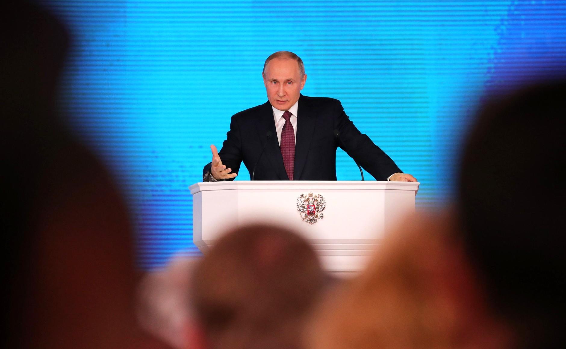 Stratfor о вызовах для четвертого срока Путина