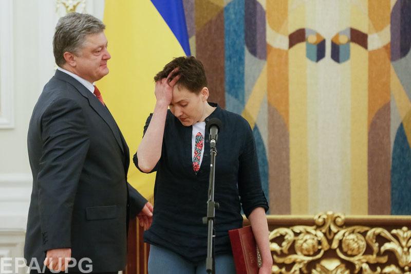 Журналисты западных изданий сходятся во мнении, что отпуская Савченко, Путин надеялся на отмену санкций