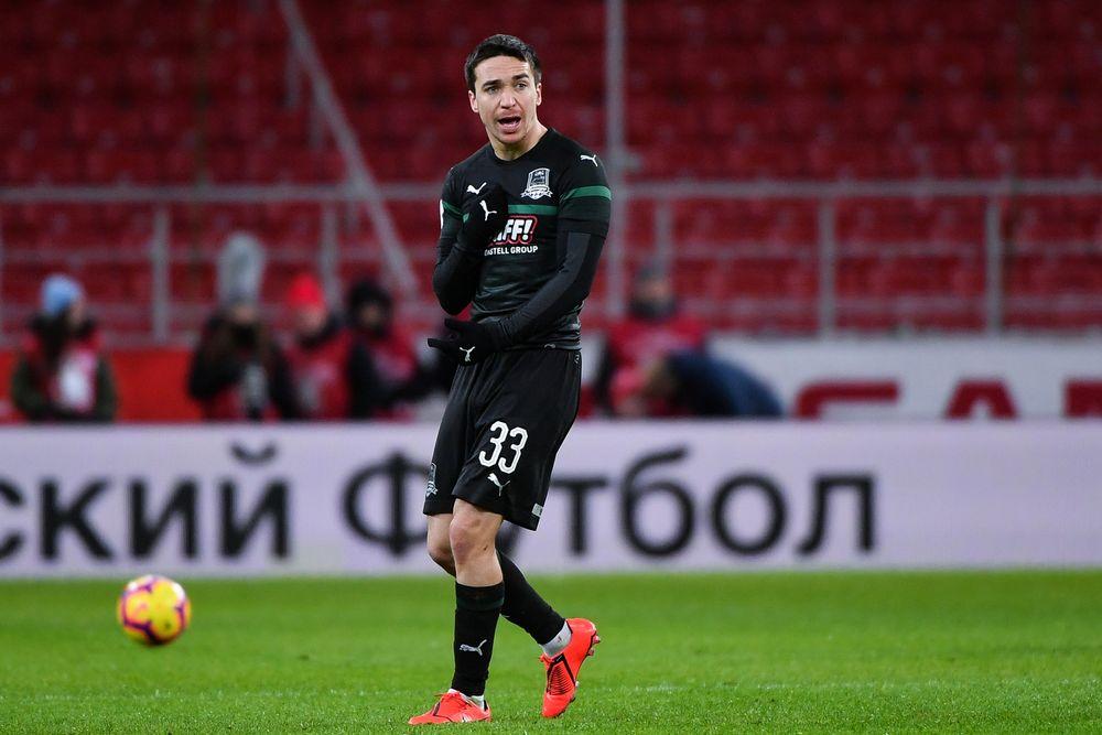 Испанская Валенсия сыграла с российским Краснодаром в 1/8 финала Лиги Европы