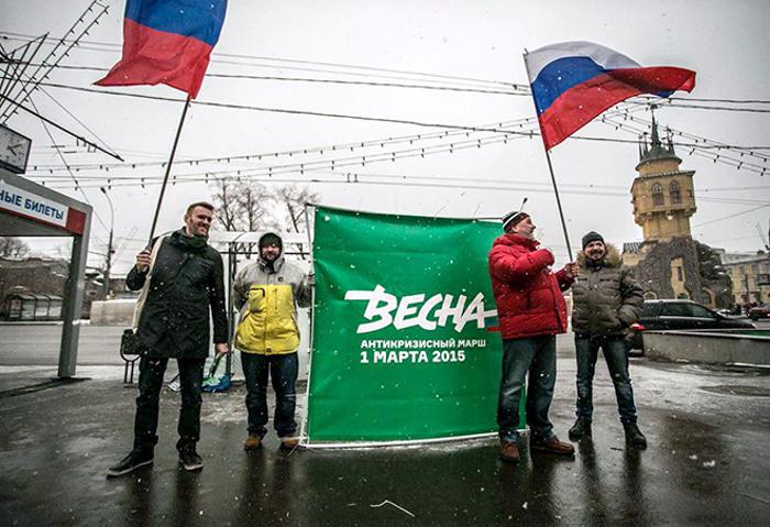 Авторитарный стиль правления и массовая пропаганда в России нивелируют деятельность оппозиционных сил