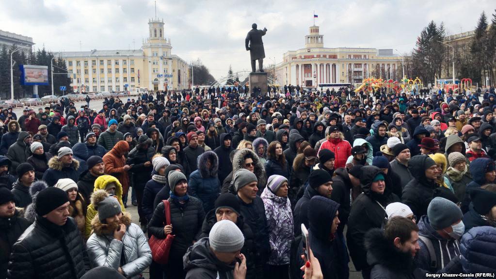 Stratfor про російські протести у відповідь на трагедію в Кемерові