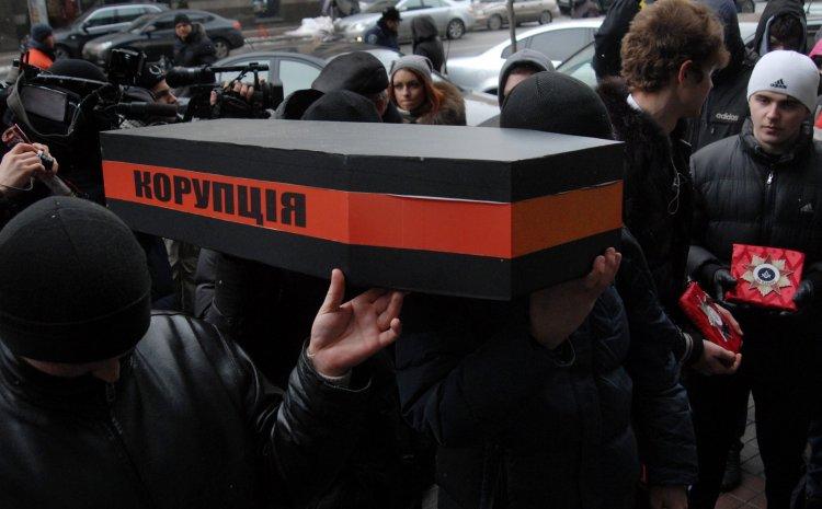 В Украине привыкли создавать активную деятельность вокруг борьбы с коррупцией