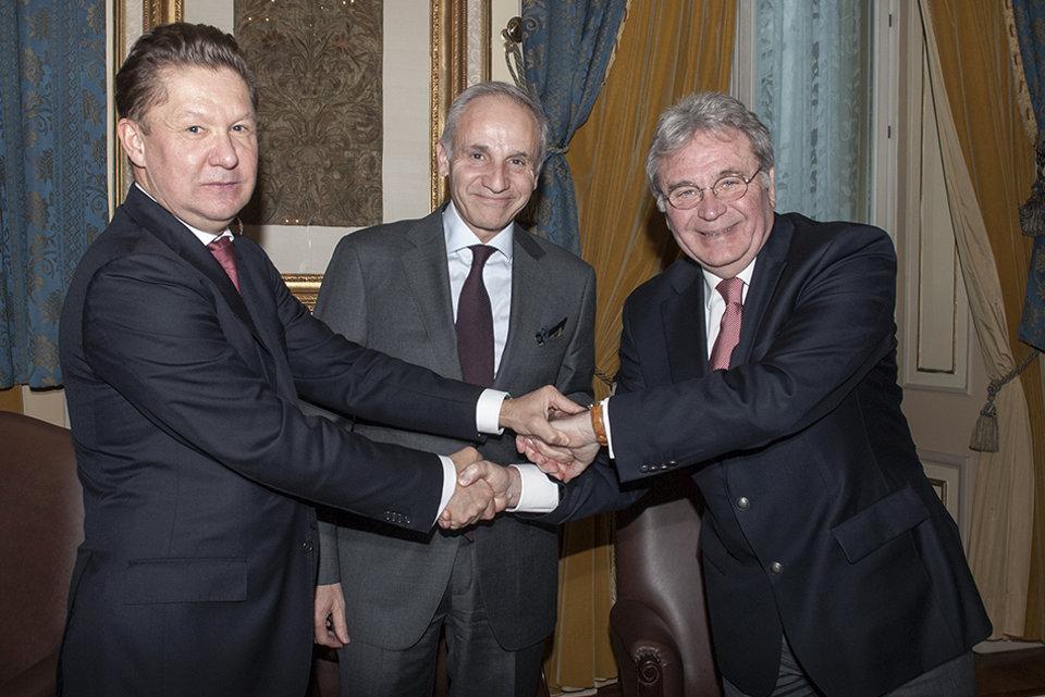 """""""Газпром"""" собирается присодиниться к проекту """"Посейдон"""", чтобы обойти Украину с юга"""