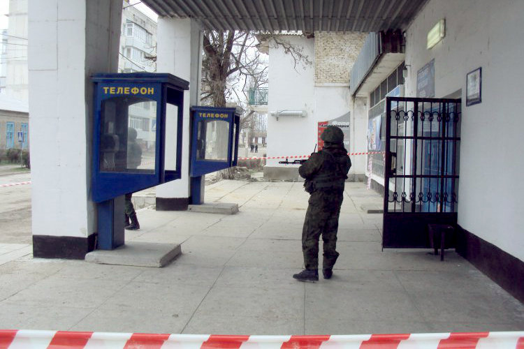 В Севастополе самопровозглашенные власти захватили инфраструктуру «Укртелекома»