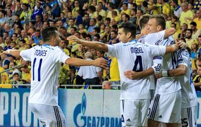 В Хайфе динамовцы одержали первую победу в групповом турнире Лиги чемпионов