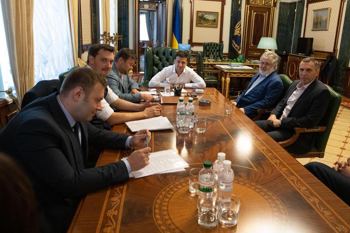 Алексей Кущ об итогах встречи Зеленского и Коломойского на Банковой