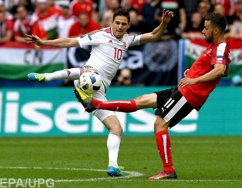 14 июня в борьбу на Евро-2016 вступили команды в группе F
