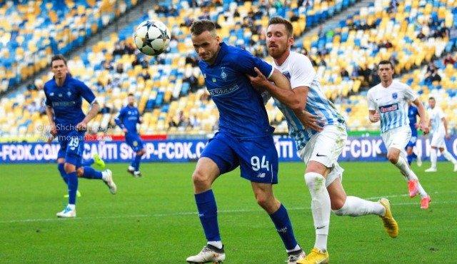 Динамо и Десна сыграли в матче 7-го тура чемпионата Украины