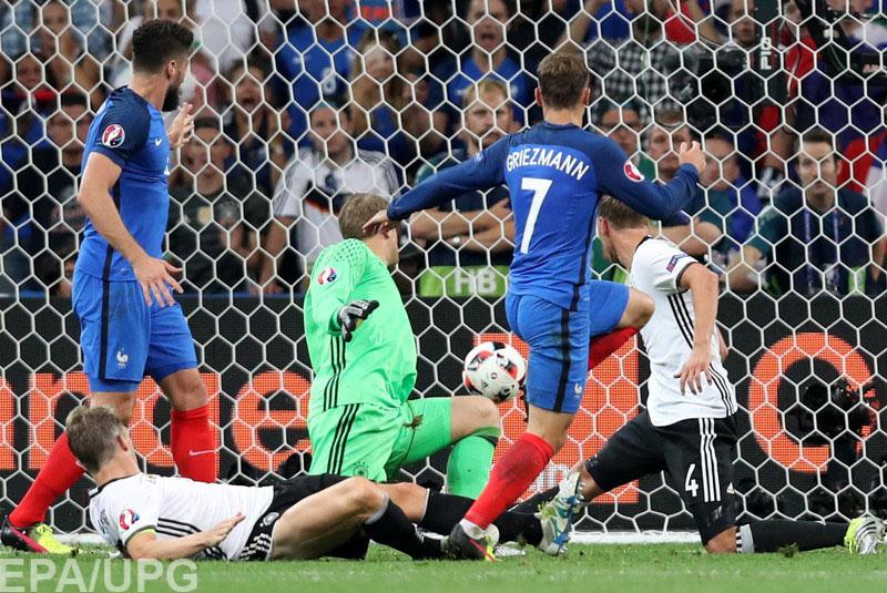 7 июля фавориты чемпионата Европы определили второго финалиста турнира
