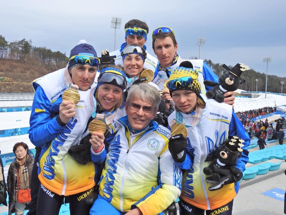 Украинские паралимпийцы завоевали 22 медали