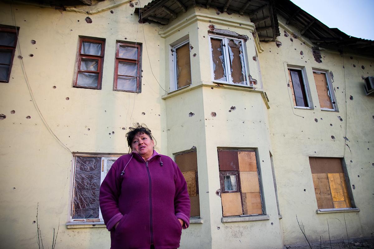 На жителей Донецка свалилась масса проблем