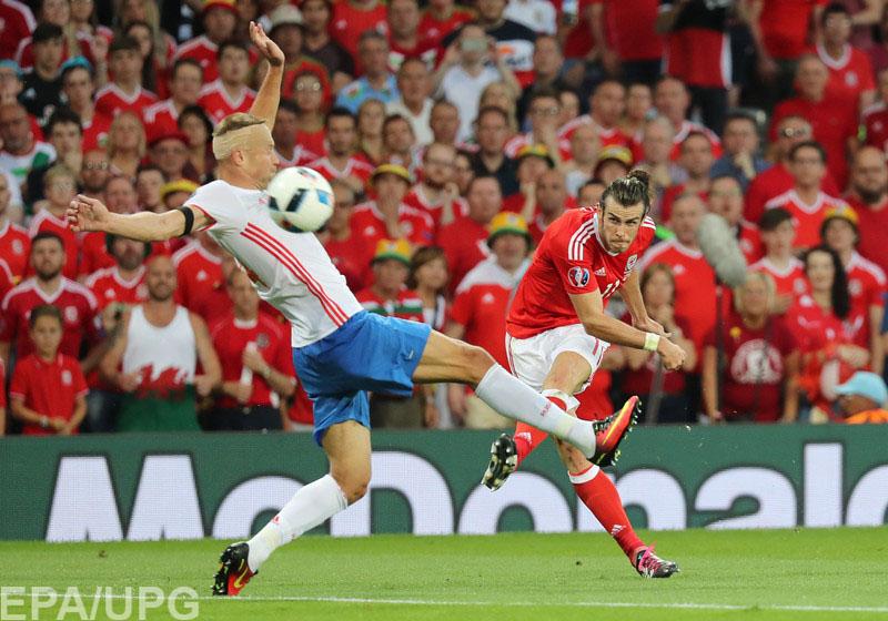 Уэльс провел блестящий матч и сумел выйти на 1-е место в группе B