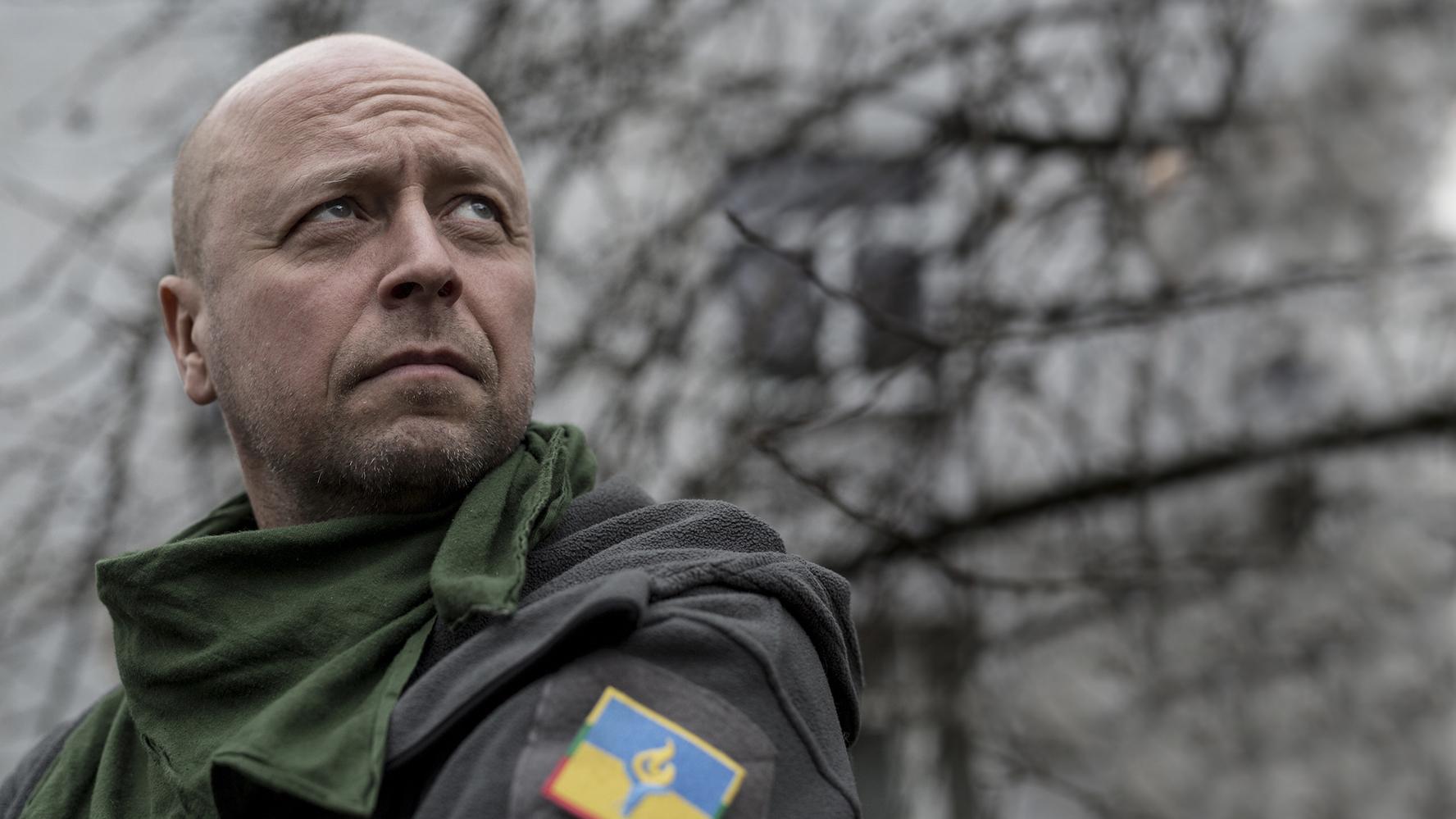 Йонас Охман помогает украинской армии с начала гибридной войны