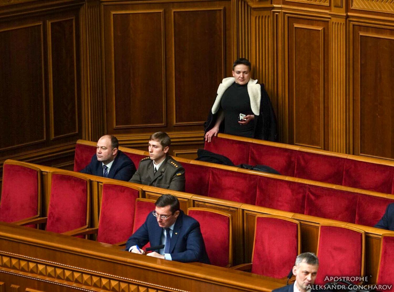 Как Верховная Рада сняла неприкосновенность с бывшей узницы Кремля