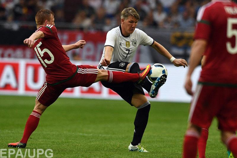 Немцы в хорошем настроении подходят к стартовой игре Евро-2016