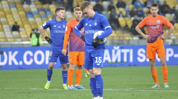 Динамо обыграло Мариуполь в матче чемпионата Украины