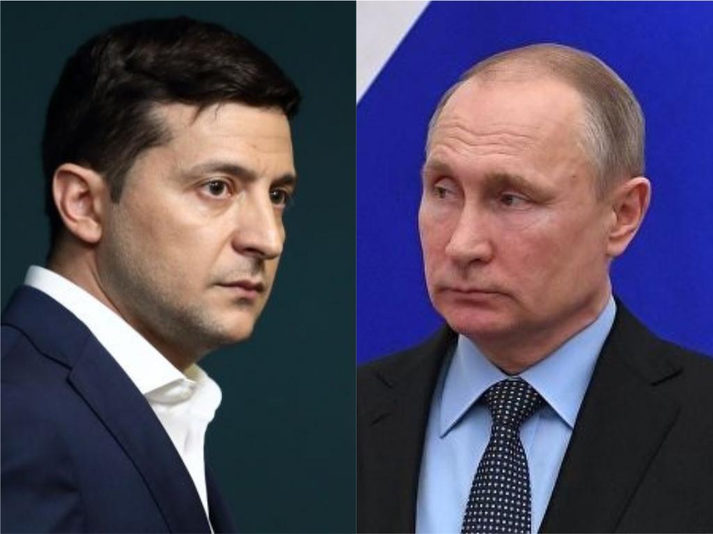 О чем Зеленский говорил с Путиным