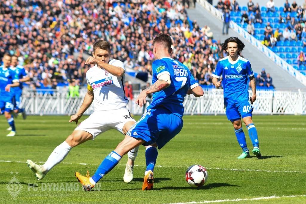 В 31-м туре УПЛ в Запорожье прошел матч луганского и киевского коллективов