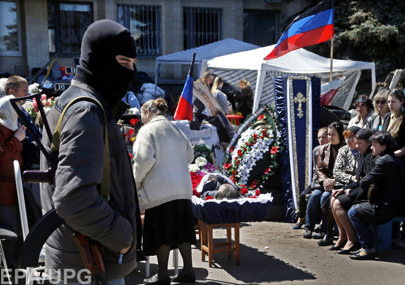 """Незаконные """"правительства"""" обманывают семьи погибших боевиков, не выплачивая им компенсации в полном объеме"""
