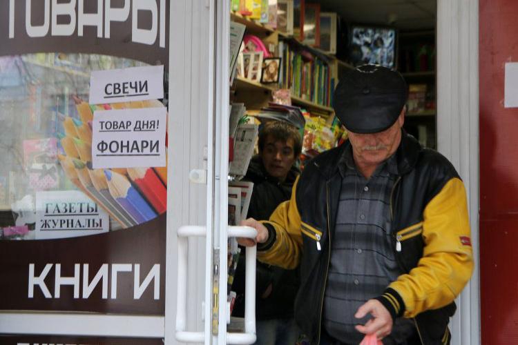Блогеры комментируют отключение аннексированного Крыма от электричества