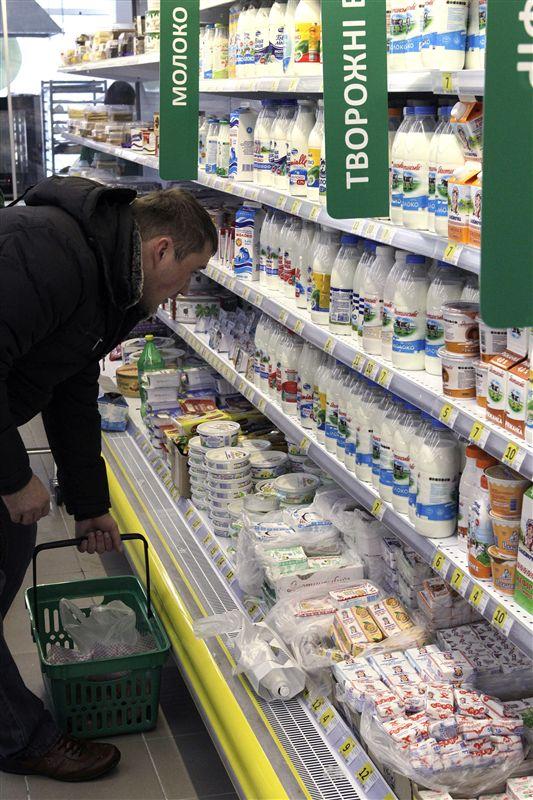 Украинское молоко объявлено нон-грата в России