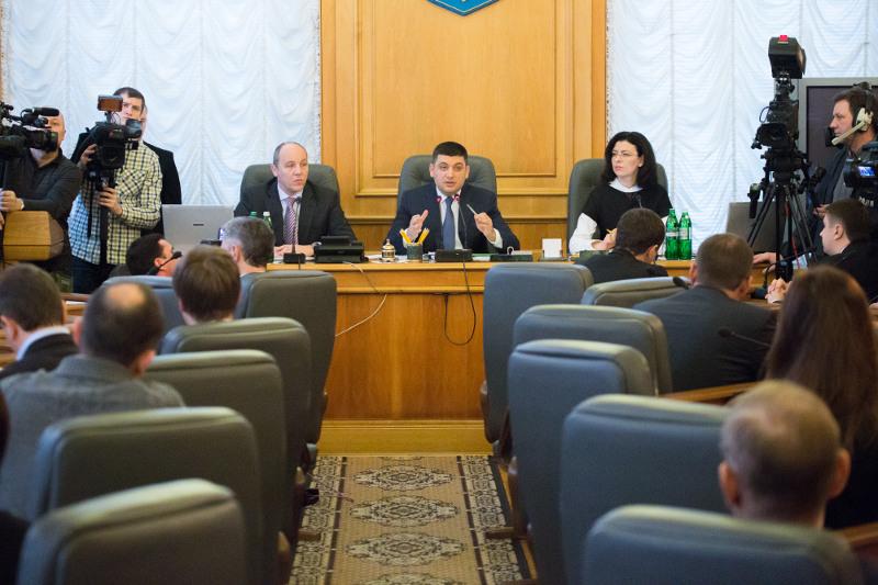 Отдельные фракции большинства высказали претензии к проекту госбюджета на 2015 год