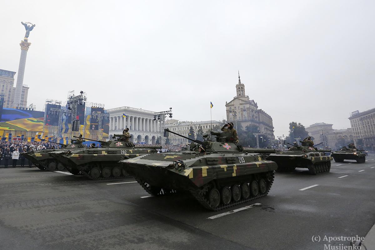 Украинцы получили возможность порадоваться за окрепшую армию
