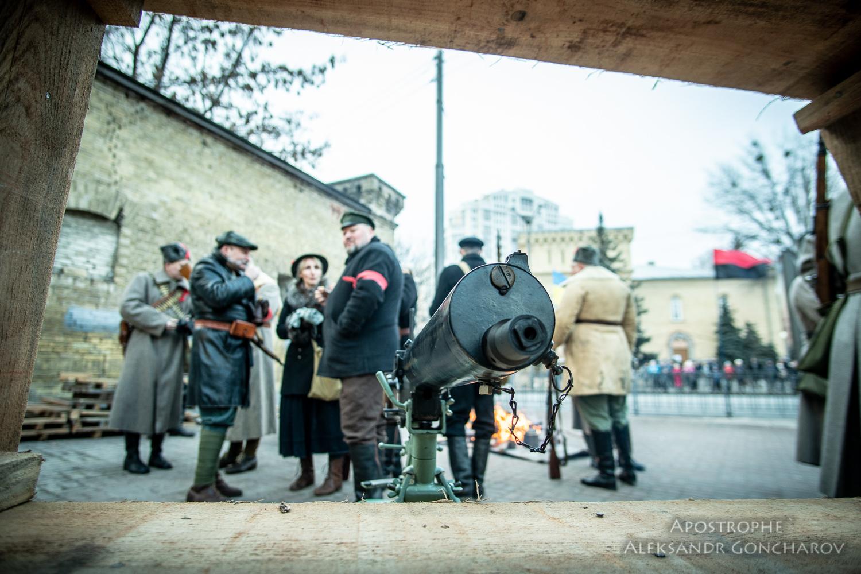 Восстание на заводе арсенал Киев 1918 красные