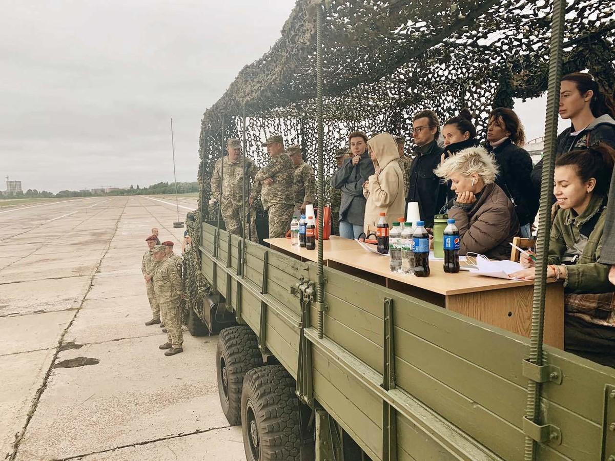 ВКиеве состоялась первая репетиция марша «защитников Украины»